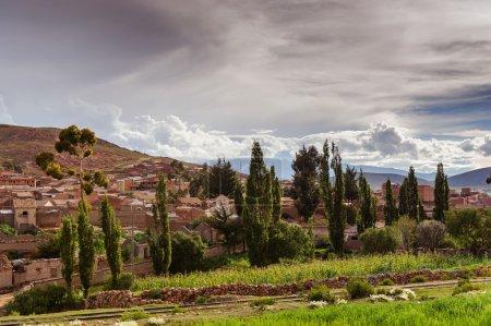 Mountains of Bolivia, altiplano