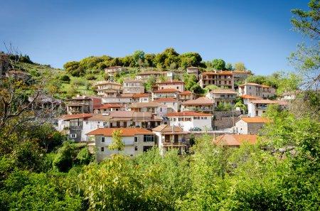 Valtessiniko village at Springtime