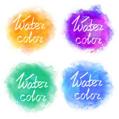 Abstract colorful water color backgrounds