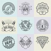 Vape Logotypes Set