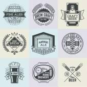 art logotypes home brewery set