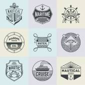 Assorted Nautical Template Set