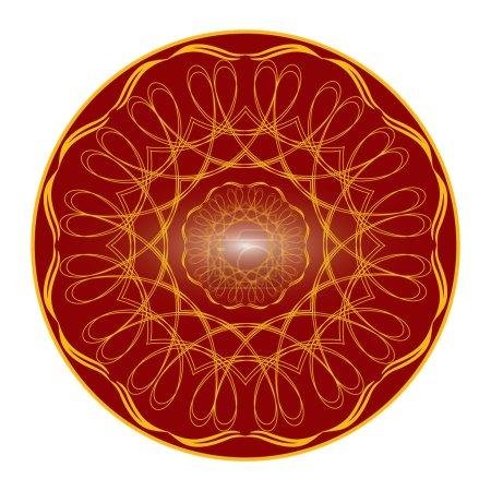 Classic Mandala vector free