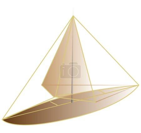 Boat design draw trace free design