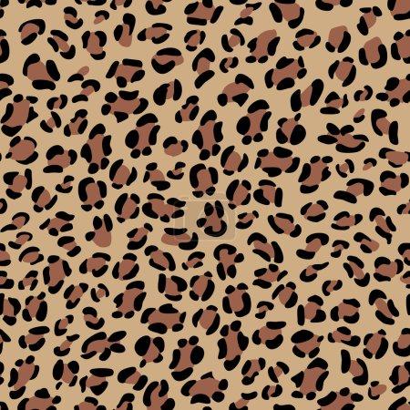 Seamless leopard texture