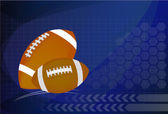 Background of American Football and rugby sports Vector Illustr