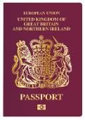 Brit útlevél
