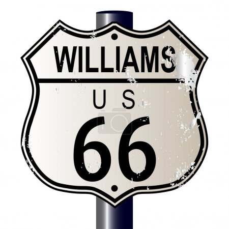 Williams Route 66 Sign