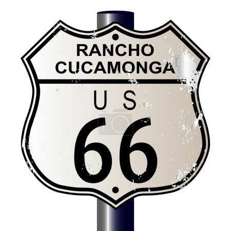 Rancho Cucamonga Route 66 Sign