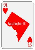 USA Playing Card Ace Hearts