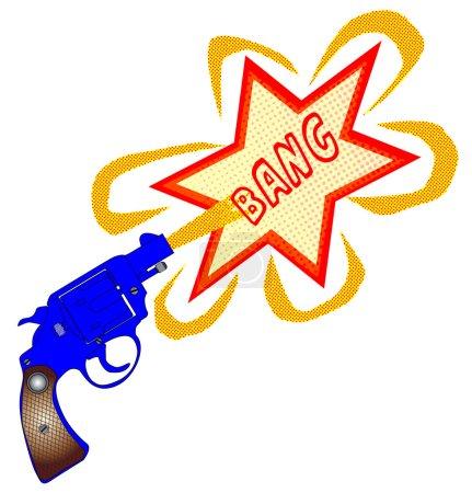 Comic Gun Bang