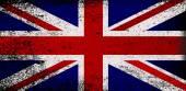 Vlajka unie jack grunge