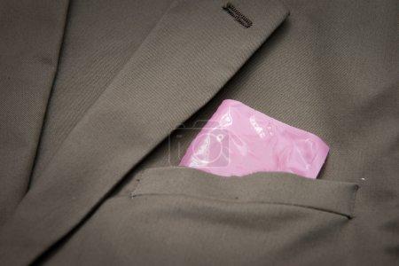 Condoms in pocket
