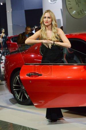 Red Maserati Luxury Open Car