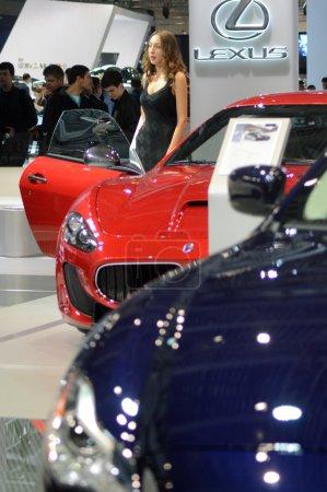 Moscow International Automobile Salon Maserati