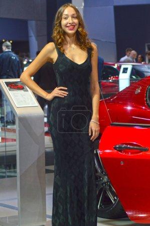 Moscow International Automobile Salon Women
