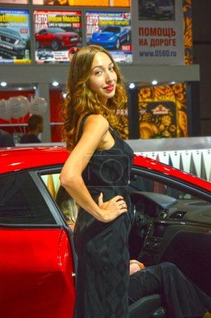 Moscow International Automobile Salon Women