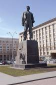 Mayakovsky monument in Moscow  Triumphal square