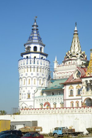 The Kremlin in Izmailovo Moscow