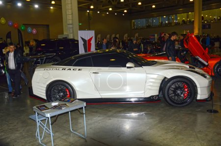 Moscow Tuning Show 2015 White