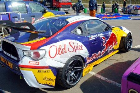 Racing car Moscow Nikita Shikova famous drifter and his Rocket Bull 86 Tuning Show 2015 Russian Drift Series