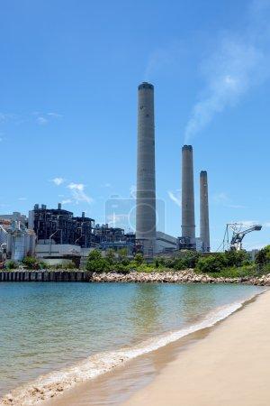 Coal-fired power station in Lamma Island