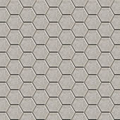 Hexagon tiles floor