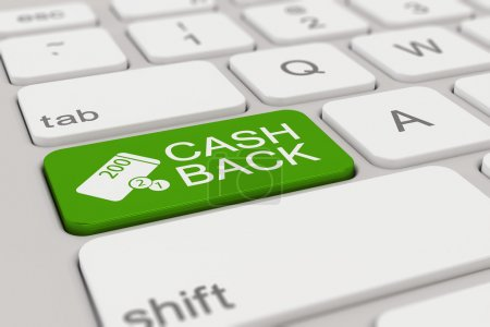 keyboard - cashback - green