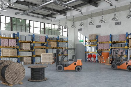 building and construction materials - warehouse