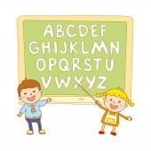 kids school art  boy abc alphabet aducation