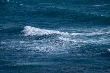 Texture storm surf waves