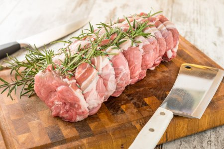 Organic pork chops