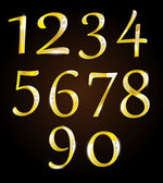 Golden numbers with diamonds