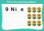 Fill in the missing letters