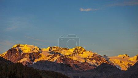 Mountain landscape in Aosta Valley 3