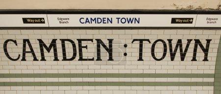 Camden Town Underground station letterbox