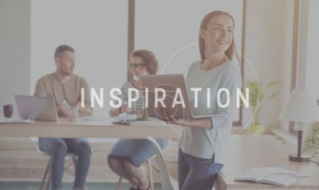 Inspiration and creativity concept