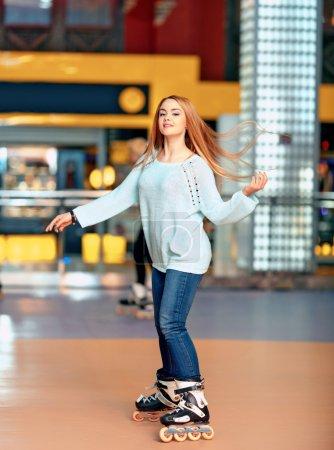 Active leisure is what I like. Beautiful female te...