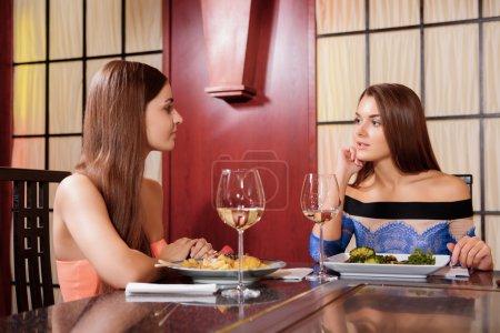 Dinner at the Asian restaurant