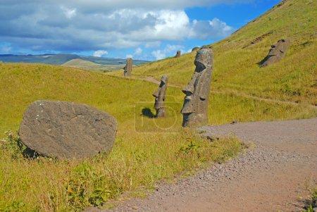 Moai, Easter Island, Rapa Nui, Chile