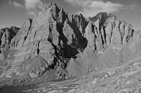 Photo pour Scène des montagnes Rocheuses au Colorado, États-Unis - image libre de droit