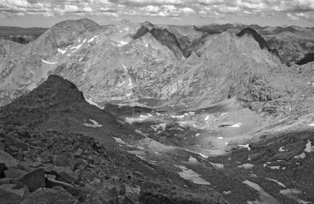 Rocky Mountain Scene in Colorado, USA