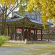 Autumn at Deoksugung Palace in Downtown Seoul, Kor...