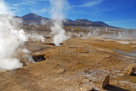 Photo pour Désert d'Atacama et Altiplano, Chili - image libre de droit