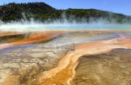 Grand Prismatic Spring, Midway Basin, Yellowstone National Park