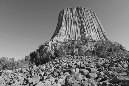 Devils Tower National Monument, Wyoming, USA