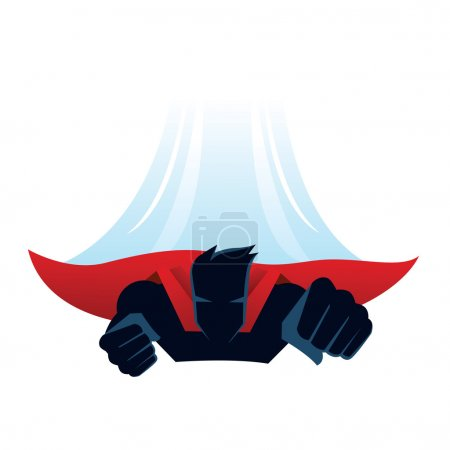 Super Hero Character Fly