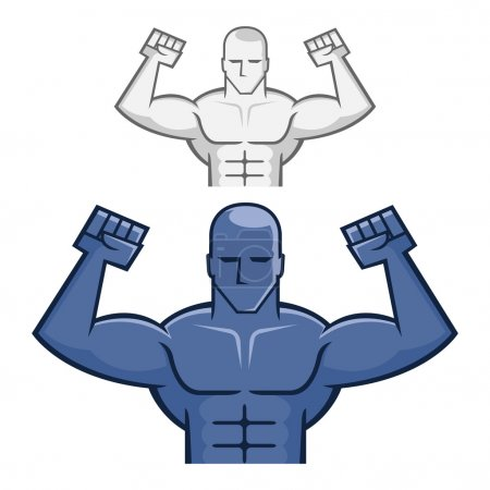 Figure of a Muscle Man