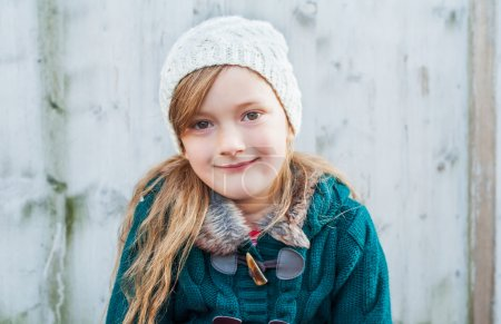 Photo for Outdoor portrait of a cute little girl - Royalty Free Image