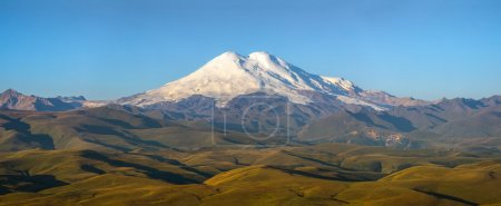 Panoram of Mount Elbrus
